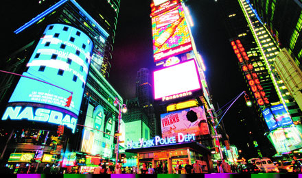 See the Magic of Times Square