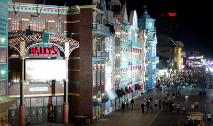 Atlantic City Boardwalk by Night
