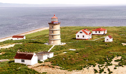 Island of Coudres Lighthouse