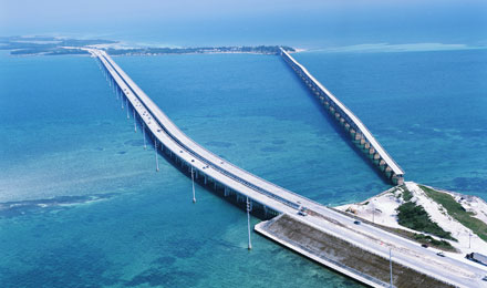 Florida Keys Famous Bridge
