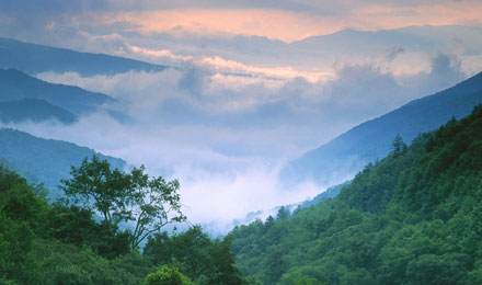Scenic Smoky Mountain National Park