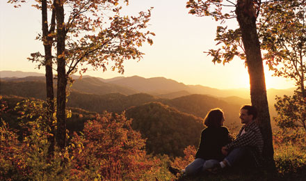 Sightsee in Smoky Mountain National Park