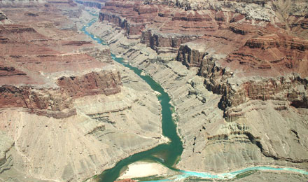 An Aerial View of the Grand Canyon