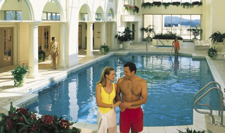 Indoor Pool and Spa at Foxwoods