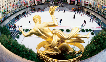 See the World Famous Rockefeller Center