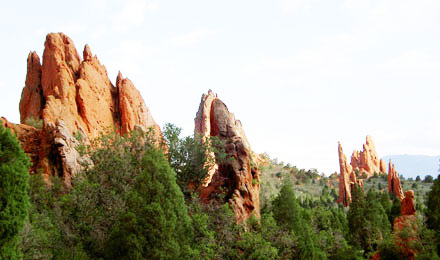 Red Rock Formations, Garden of the Gods