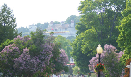 Scenery of Mackinac Island, Michigan