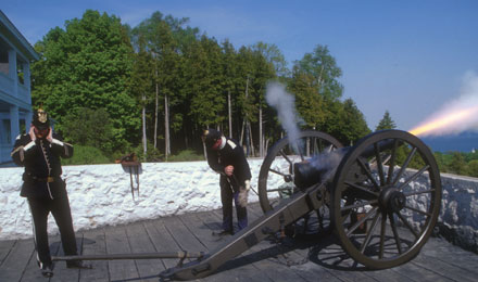 Mackinac Island, Old Cannon