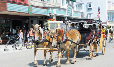 Enjoy A Carriage Tour on Mackinac Island