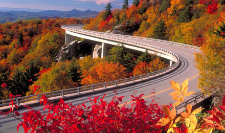 Enjoy a Relaxing Drive along the Blue Ridge Mountains