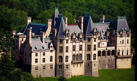 Aerial View of the Biltmore Estate