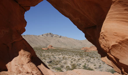 Arch Formation in Valley of Fire State Park