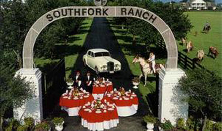 Relive the Memorable Moments of the Television Show Dallas at Southfork Ranch