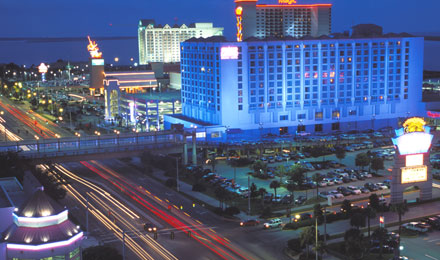 Skyline View of Casinos on the Mississisppi Gulf Coast