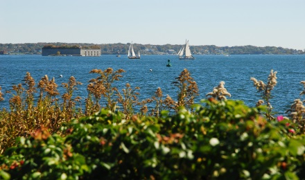 Picture of Fort Gorges in Casco Bay