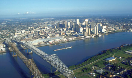 Magnificent City Skyline New Orleans
