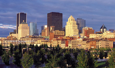 Montreal City Skyline, Montreal, Canada