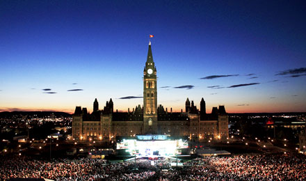 Parliament Hill is a Leading Ottawa Tourist Attraction