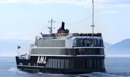 Take a narrated cruise on the St Lawrence River