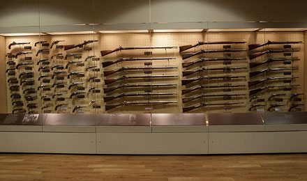 Picture of a Gun Collection