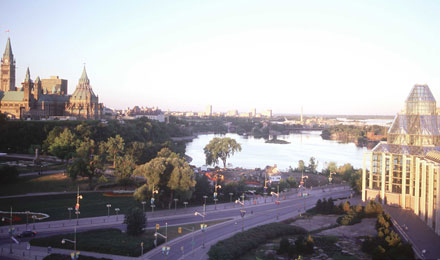 Beautiful City of Ottawa, Canada