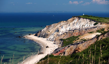View of the Bluffs & Shoreline Martha's Vineyard