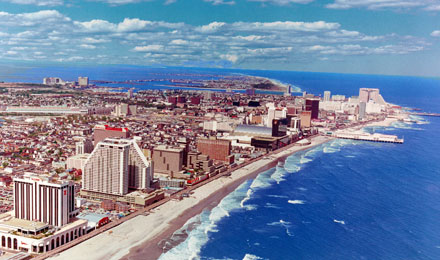 The Atlantic City Skyline