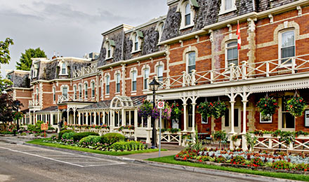 Historic Homes in Niagara on the Lake, Ontario