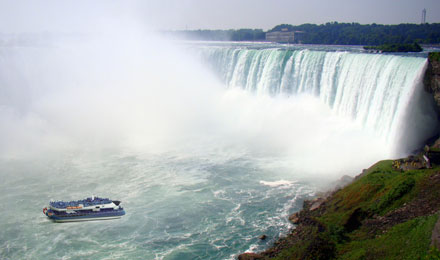 See Niagara Falls Up Close by boat