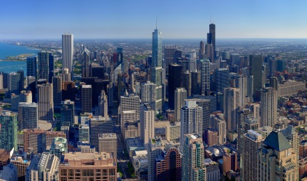 Enchanting 360 Degree Views of Chicago