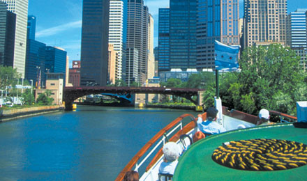 Enjoy a Skyline Cruise on Lake Michigan