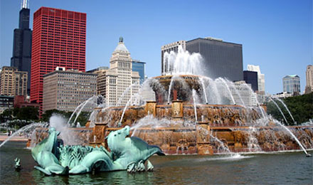 Buckingham Fountain - a Chicago Landmark