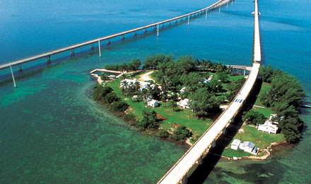 Florida Keys Famous Bridge in Florida