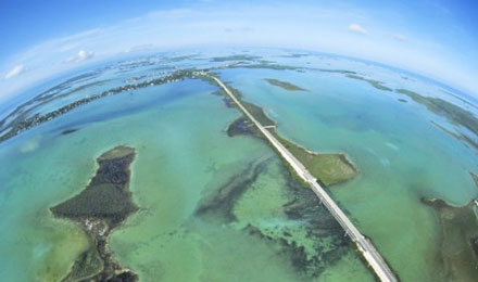 A View of the Florida Keys