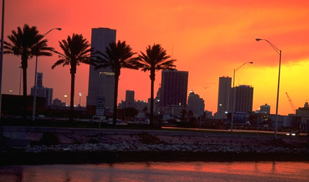 GSunset, Miami, Florida