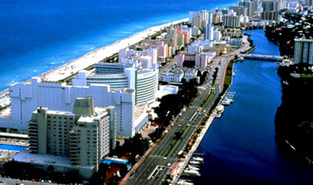 Aerial View, Miami, Florida