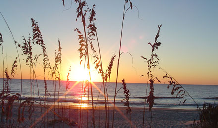 Sunrise at Jekyll Island, GA