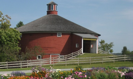 Explore the outdoor Shelburne Museum