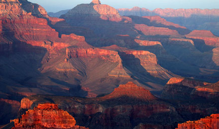 Breathtaking View of Grand Canyon National Park