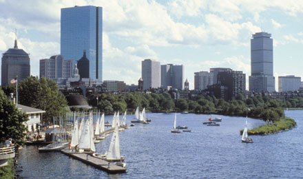 Boston Skyline, Boston, Massachusetts