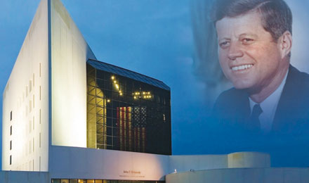 JFK Library and Museum in Boston, Massachusetts