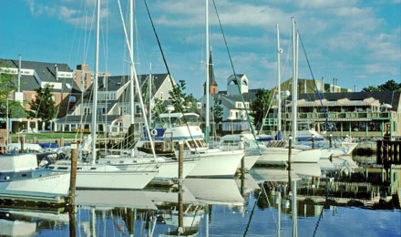 Harbor in Salem, Massachusetts