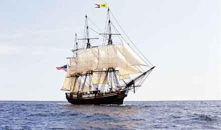 A Ship in Salem, Massachusetts