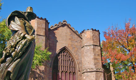 Romanesque Salem Witch Museum in Salem MA