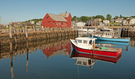 Rockport on Cape Ann, Massachusetts