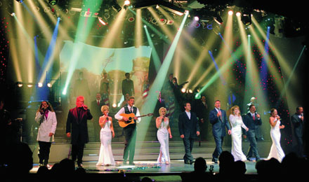 Broadway Experience Lights up the Stage