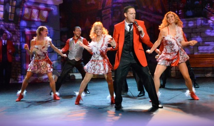 The Cast of The Christmas Show Dancing