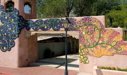Old Town Albuquerque scenery
