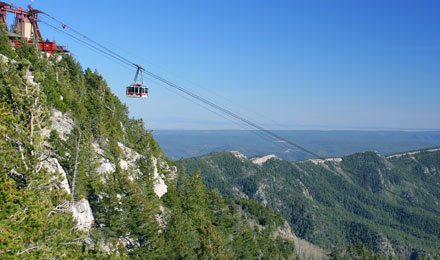 Sandia Peak Tramway Aerial Ride Mountain View