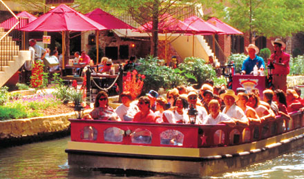 The River Walk Cruise on San Antonio River